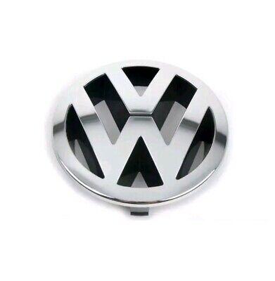 VW TOUAREG FRONT 150mm GRILLE EMBLEM CHROME BADGE 7L6853601A