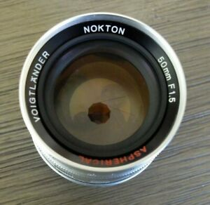 VOIGTLANDER 50MM/F1.5 NOKTON ASPHERICAL for LTM