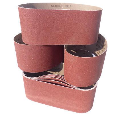 30 Schleifbänder 100 x 560mm Schleifband Gewebebänder Bandschleifer Korn P120