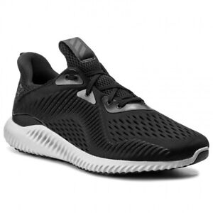 768ed4d54fb7e Adidas Men s AlphaBounce EM Black White Grey BY4264 Sz 8 - 13