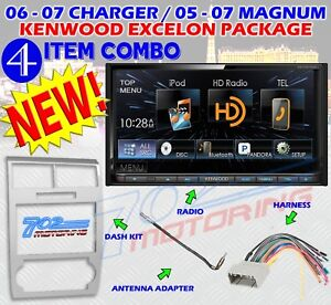 Details about KENWOOD DDX672BH SILVER MAGNUM CHARGER RADIO STEREO CAR on