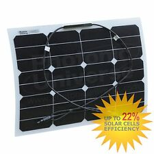 30W Flexible Solar Panel for Motorhome, Camper, Caravan, Car, RV, Boat, Yacht