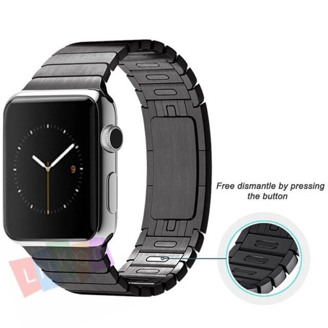Kades Solid Stainless Steel Iwatch Band Link Bracelet 42mm Apple Watch Sport Us For Sale Online Ebay