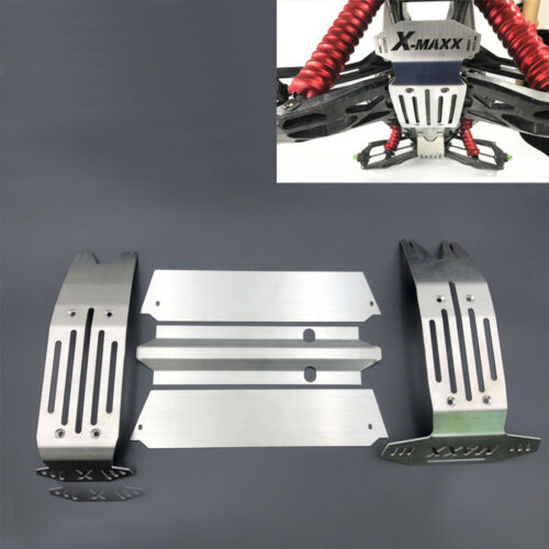 Traxxas X-Maxx XMAXX Stainless Steel Chassis Armor Skid Plate Hollow Version New