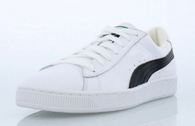 PUMA Basket Classic LFS Men's Casual Shoes White Leather 354367 22 Fast ship L