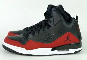 brand new 2e24e 708e4 Image is loading Nike-Air-Jordan-SC-3-Basketball-Shoes-Black-