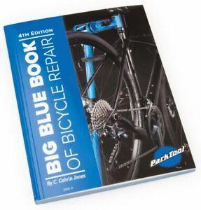 Park-Tool-BBB-4-Big-Blue-Book-of-Bicycle-Repair-4th-Edition-Manual-Guide