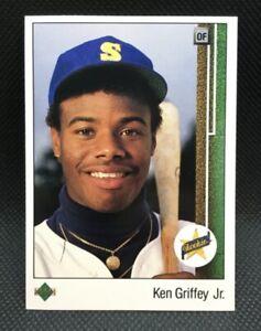 1989 Upper Deck KEN GRIFFEY JR. Rookie #1 Seattle Mariners HOF NM-MINT SHARP