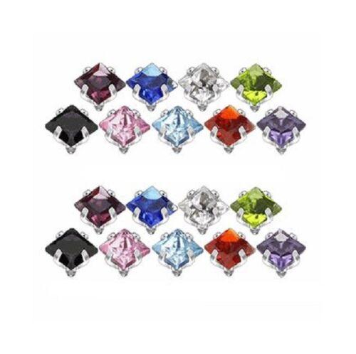 SAS31-18pc 18pc Jeweled Dermal Tops