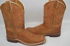 4a6018586de Justin Western BOOTS Mens Leather Cowboy Bent Rail Road Tan BR733 ...
