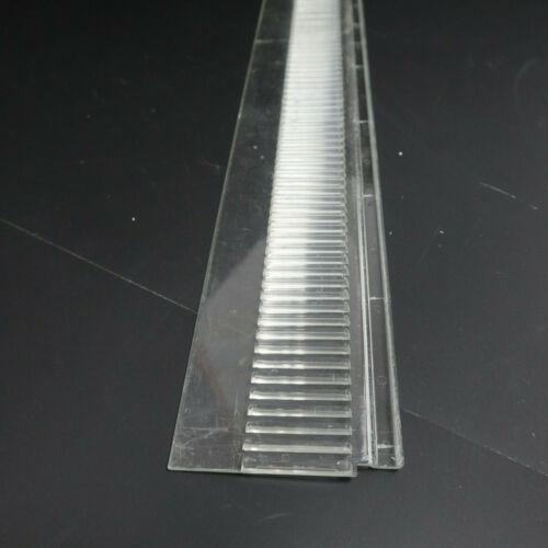 50 Abteilleisten gebraucht Einsteckschienen 100cm 7,5cm Tegometall Boden Regal