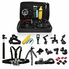 26in1 Head Chest Mount Monopod Accessories Kit For GoPro Hero 2 3 4 5 Camera