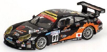 Porsche 911 gt3-rs t2m Motorsport Yamagishi pompidou 24h le mans 2005 1 43 Model