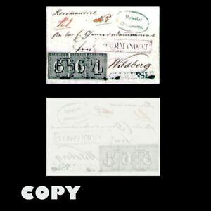 ZURICH-SWITZERLAND-1843-COVER-TO-WILDBERG-TWO-6r-amp-4r-BLACK-COPY