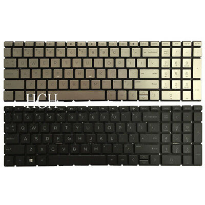 New HP 15-DA 15-DA0012DX 15-DA0032WM 15-DB 15-DB0047WM TPN-C135 Keyboard US Blac