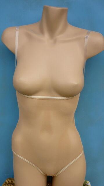All Flesh Fishnet Mesh Body Stocking for Belly Dance, Costumes, Medium