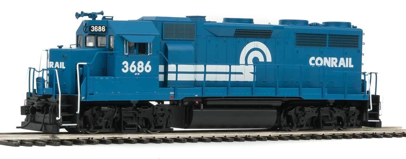 Walthers 42168 EMD GP35 Phase 2 w SoundTraxx(R) Tsunami(R) Sound & DCC Conrail
