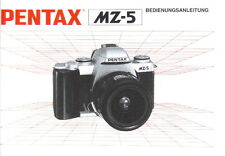 Pentax MZ-5 Bedienungsanleitung manual mode d'emploi - (0488)
