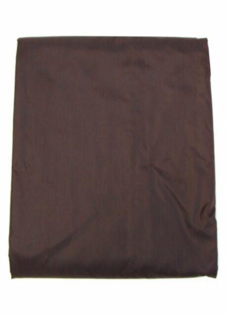 Brown 7 ' Foot Rip Resistant Nylon  Pool Table Billiard Cover W Elastic Corners