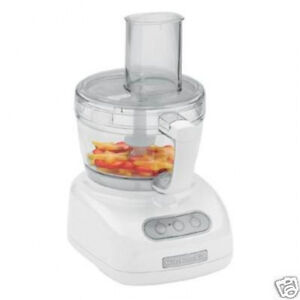 Image Is Loading Kitchenaid Large 9 Cup Food Processor Kfp740 White