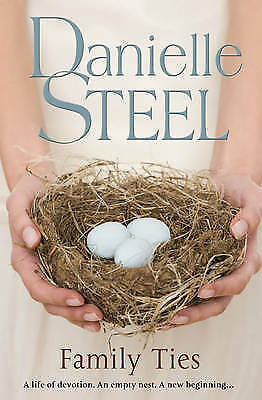 """AS NEW"" Steel, Danielle, Family Ties, Hardcover Book"