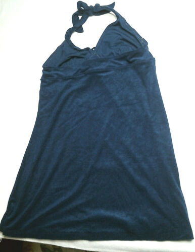 Navy Basic Editions French Terry Halter Top NWT Regular Sizes