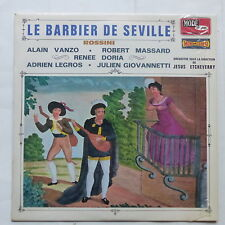 ROSSINI Barbier de Seville ALAIN VANZO MASSARD RENEE DORIA CMDINT 9495