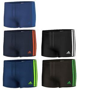 Details zu adidas 3S Kinder Boxer Badehose Badeshort Schwimmhose Short