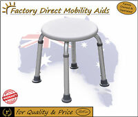 5 X Round Shower Stool Easy To Assemble Top Quality Made From Aluminium