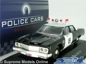 Chevrolet Bel Air Police of USA 1973 Diecast Metal model 1:43 Deagostini \