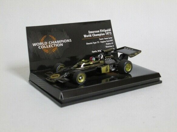 Lotus 1972 Fittipaldi E 1 43 Minichamps