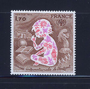 FRANCIA-FRANCE-1979-MNH-SC-1624-Intl-Year-of-Child