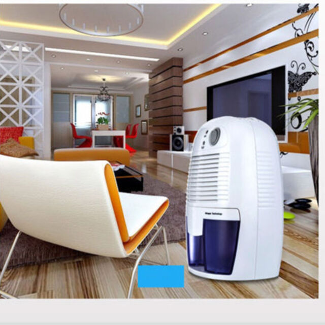 Portable Mini Dehumidifier Quiet Electric Home Drying Moisture Absorber Air Room