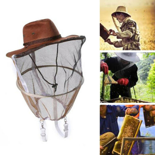 Beekeeping beekeeper cowboy hat mosquito bee insect net face head proteODCA V SU