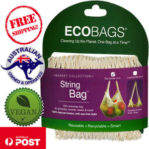 ECOBAGS-Market-Collection-String-Bag-Tote-Handle-10-in-1-Bag-Choose-Colour