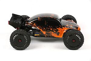 Custom Body Orange Muddy Splash for ARRMA GRANITE 3S BLX 1//10 Cover Shell