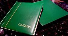 Schaubek Canada Hingeless Album1976-1992 with SpringbackBinder &slipcase $405.95