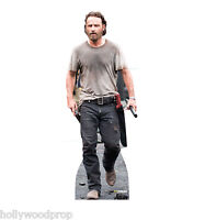 THE WALKING DEAD RICK ANDREW LINCOLN LIFESIZE CARDBOARD STANDUP STANDEE CUTOUT