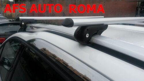 BARRE PORTATUTTO ALLUMINIO ROMA PEUGEOT 2008 ANNO 2018 CON RAILS