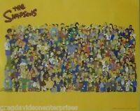 The Simpsons 16x20 Cast Poster 2000