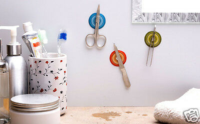 MAGNETIC STICKERS Holders Ofiice Bath Home Kitchen Funky Gift Peleg Design