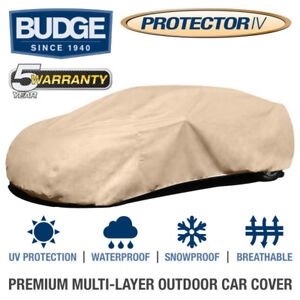 """Budge Protector IV Car Cover Fits Cars up to 16'8"""" Long  Waterproof   Breathable"""