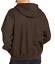 Dickies-Bonded-Waffle-Knit-Heavyweight-Hoodie-Jacket-Dark-Brown-Men-039-s-Medium thumbnail 2