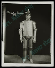 DEATHBED SIGNED FINAL AUTOGRAPH!! THE WIZARD OF OZ 1938 TEST PHOTO! BUDDY EBSEN!