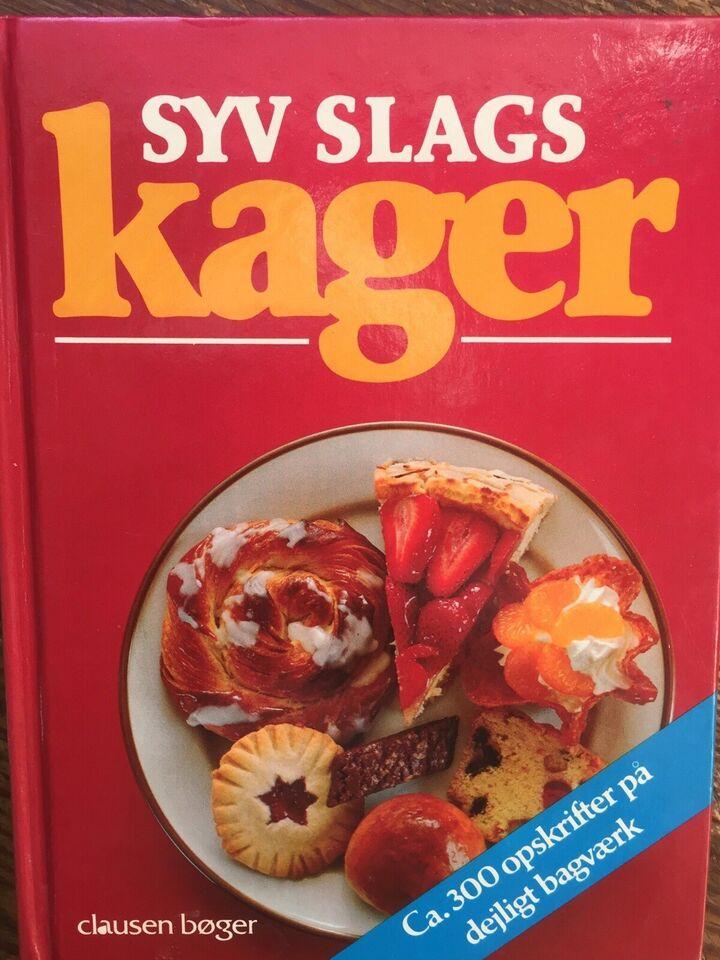 SYV SLAGS KAGER - 300 opskr. -188 s, Brita Olsson - 1986,
