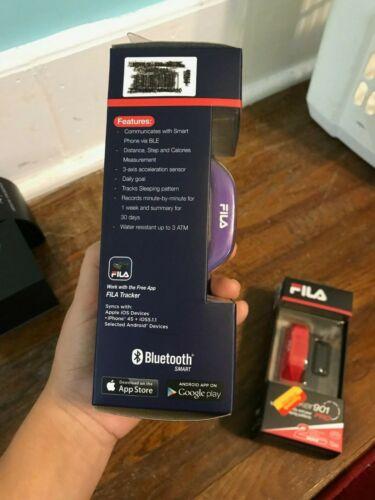 Purple NEW IN BOX FILA TRACKER 902 Activity Sleep Wristband
