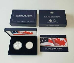 2019-Pride-of-Two-Nations-19XB-Limited-Edition-Two-Coin-Set-IN-HAND-Free-Ship