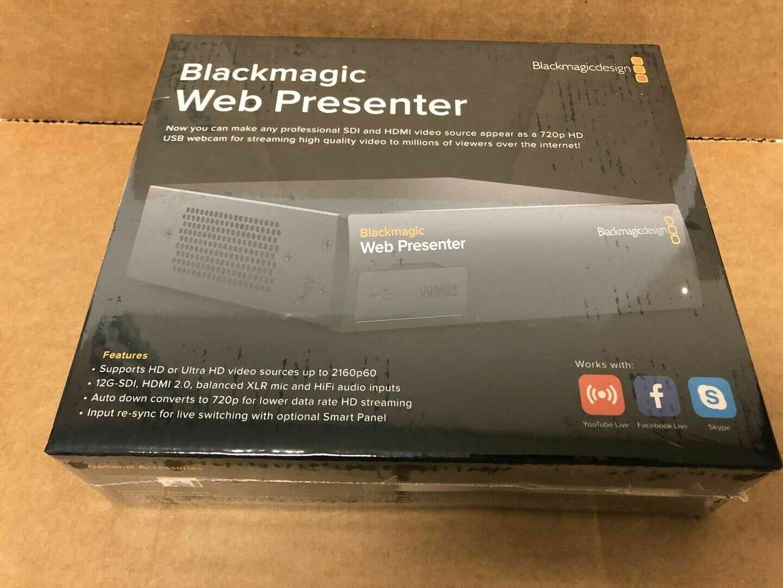 Blackmagic Design Web Presenter Live Converter For Sale Online Ebay