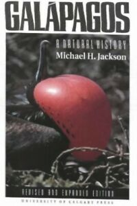 Galapagos-A-Natural-History-by-Jackson-Michael-H-Paperback-Book-The-Fast-Free
