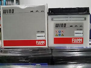 Batteria Moto Fiamm F60-n24al-b 12v 24ah Bmw- Ducati 7904461 éLéGant En Odeur